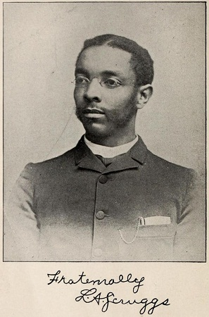 This photograph is of Lawson Andrew Scruggs, one of the first three black doctors licensed by the State of North Carolina.