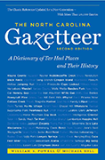 NC Gazetteer book cover