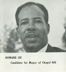 This is an image of Howard Lee from a campaign brochure.