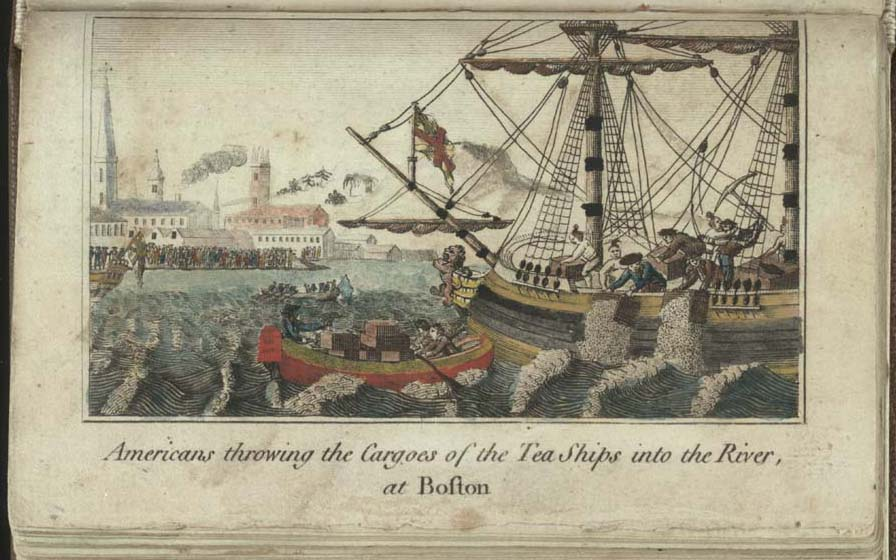 Boston Tea Party illustration