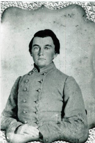 Photograph of Edward Hall Armstrong in Confederate military uniform. Image courtesy of Pender County Public Library Digital Archives and DPLA.