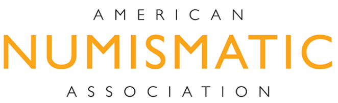 Logo for the American Numismatic Association