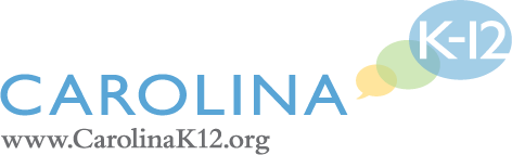 "Image of logo for Carolina K-12, link to lesson and activity plan, Surviving and Thriving Despite Jim Crow: Durham's, Grades 8 to 11. ""Black Wall Street"""