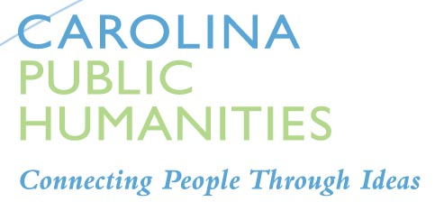 "This is a graphic image reading ""Carolina Public Humanities"" and serves as a link to Carolina K-12 lesson plan."
