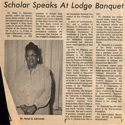 Link to Helen G. Edmonds Papers online at NC Central University