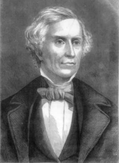 Painted portrait of Samuel F. B. Morse