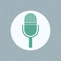 Image of a microphone icon.
