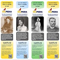 Print NC African Americans Bookmarks