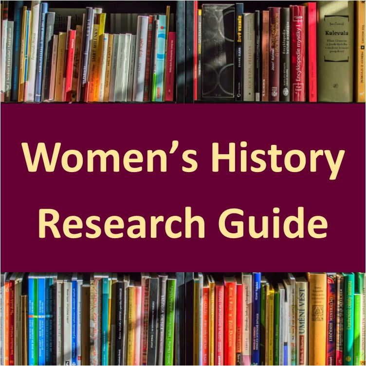 Visit this link for a research guide to researching North Carolina Women's History.