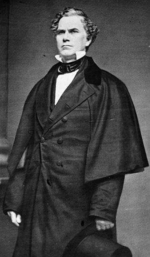 Photograph of Francis Burton Craige, circa 1855-1865. Image from the Library of Congress.