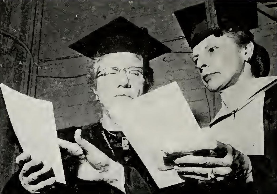 Dr. Annie V. Scott received an honorary Doctor of Science degree from the University of Greensboro in 1967. Image from the 1967 Alumni News for the University of North Carolina at Greensboro and courtesy of their University Library.