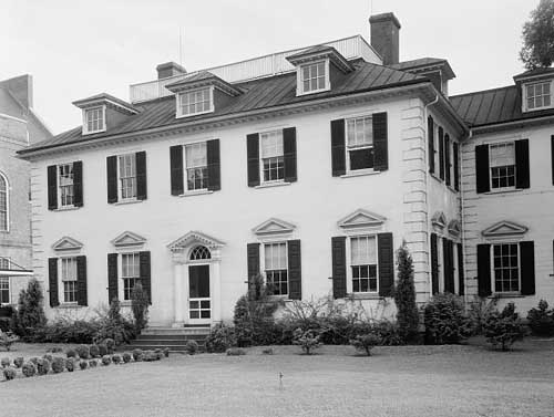 John Stanly Wright House, New Bern. 1936. Image courtesy of Library of Congress.