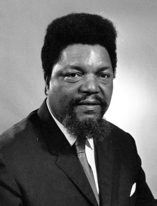 Photograph of Robert F. Williams, June 1971, from the University of Michigan News and Information Services Photographs collection, item HS15203. Used with Creative Commons 4.0 international license.