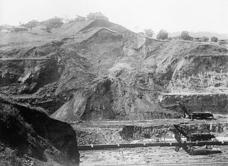 Work on the Panama Canal, 1913