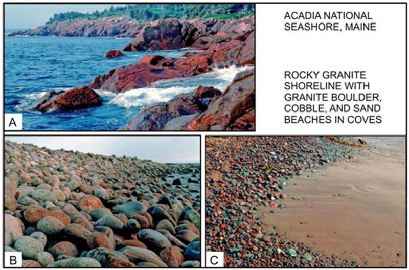 "<img typeof=""foaf:Image"" src=""http://statelibrarync.org/learnnc/sites/default/files/images/1_19.jpg"" width=""997"" height=""658"" alt=""Rocky granite shoreline at Acadia National Seashore"" title=""Rocky granite shoreline at Acadia National Seashore"" />"