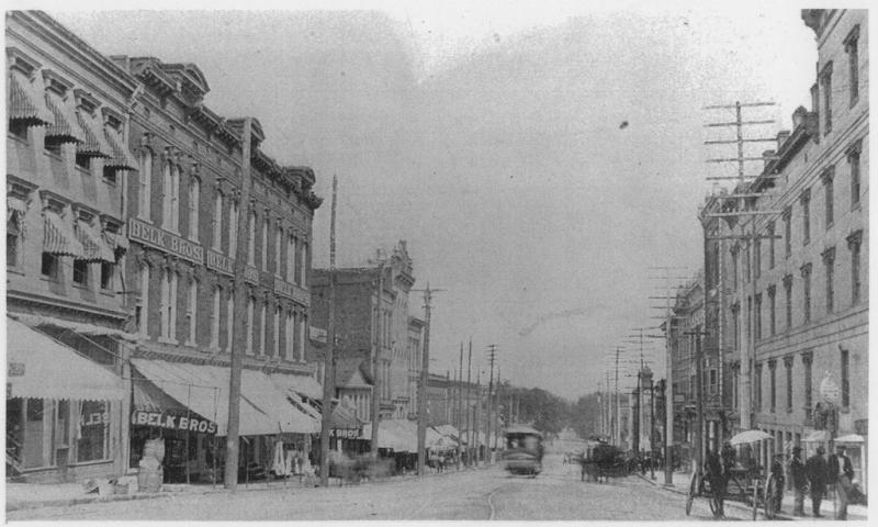 East Trade Street, Charlotte, c. 1910