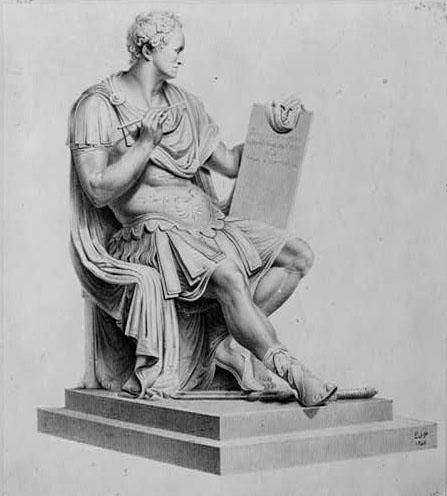 Canova's statue of George Washington