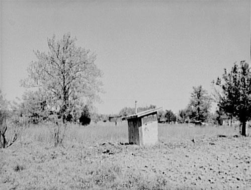 Privy near Greensboro, North Carolina