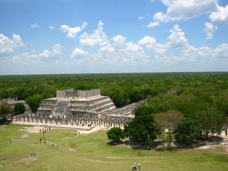 """<img typeof=""""foaf:Image"""" src=""""http://statelibrarync.org/learnnc/sites/default/files/images/ChichenItza2.jpg"""" width=""""768"""" height=""""1024"""" alt=""""The Temple of a Thousand Columns at Chichen Itza"""" title=""""The Temple of a Thousand Columns at Chichen Itza"""" />"""