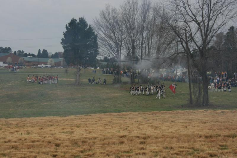 The Battle of Guilford Courthouse Reenactment
