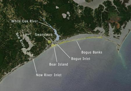 "<img typeof=""foaf:Image"" src=""http://statelibrarync.org/learnnc/sites/default/files/images/NC_coast_sat_bear_bogue.jpg"" width=""450"" height=""313"" alt=""Satellite image and map of the NC coast"" title=""Satellite image and map of the NC coast"" />"