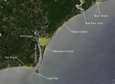 "<img typeof=""foaf:Image"" src=""http://statelibrarync.org/learnnc/sites/default/files/images/NC_coast_sat_bear_to_capefear.jpg"" width=""450"" height=""328"" alt="""" />"