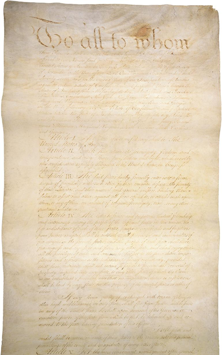 The Articles of Confederation (page 1)