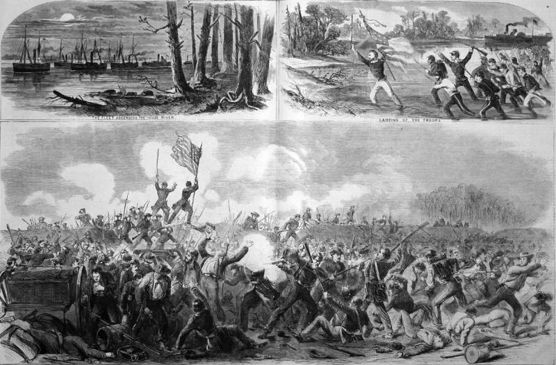 The Battle of New Bern