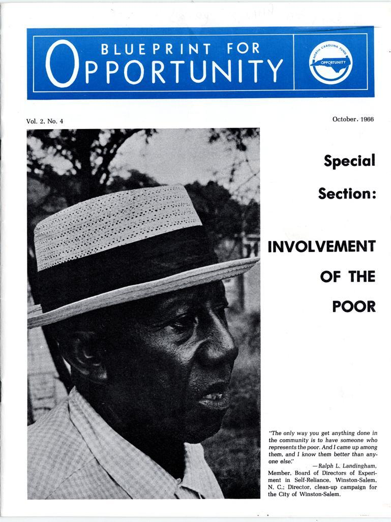 1966 cover of Blueprint for Opportunity