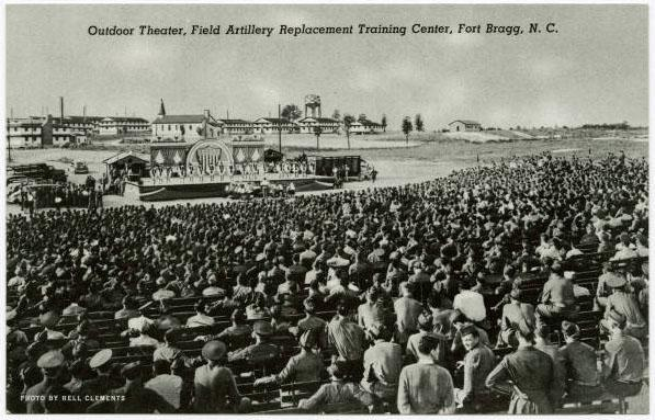 Postcard from Fort Bragg, North Carolina