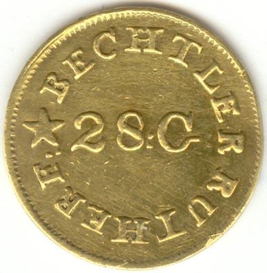 "<img typeof=""foaf:Image"" src=""http://statelibrarync.org/learnnc/sites/default/files/images/ck90_1_bechtler_obv.jpg"" width=""387"" height=""395"" alt=""Bechtler gold dollar coin (obverse)"" title=""Bechtler gold dollar coin (obverse)"" />"