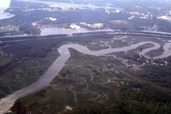 "<img typeof=""foaf:Image"" src=""http://statelibrarync.org/learnnc/sites/default/files/images/dutchmans_creek.jpg"" width=""600"" height=""402"" alt=""Dutchman's Creek and CP&L canals"" title=""Dutchman's Creek and CP&L canals"" />"