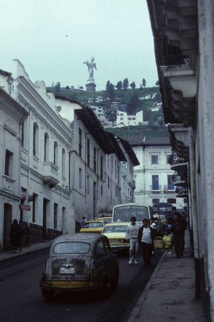 "<img typeof=""foaf:Image"" src=""http://statelibrarync.org/learnnc/sites/default/files/images/ecuador_054.jpg"" width=""682"" height=""1024"" alt=""Quito's Old City with a view of the statue of the Virgin"" title=""Quito's Old City with a view of the statue of the Virgin"" />"