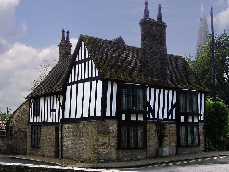 16th century timber-framed house