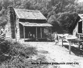 Mountain farm, early twentieth century