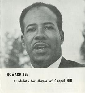 Howard Lee campaign brochure