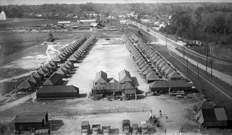 POW camp in Willamston, NC