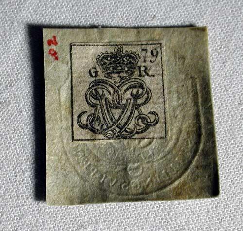Tax stamp, 1765
