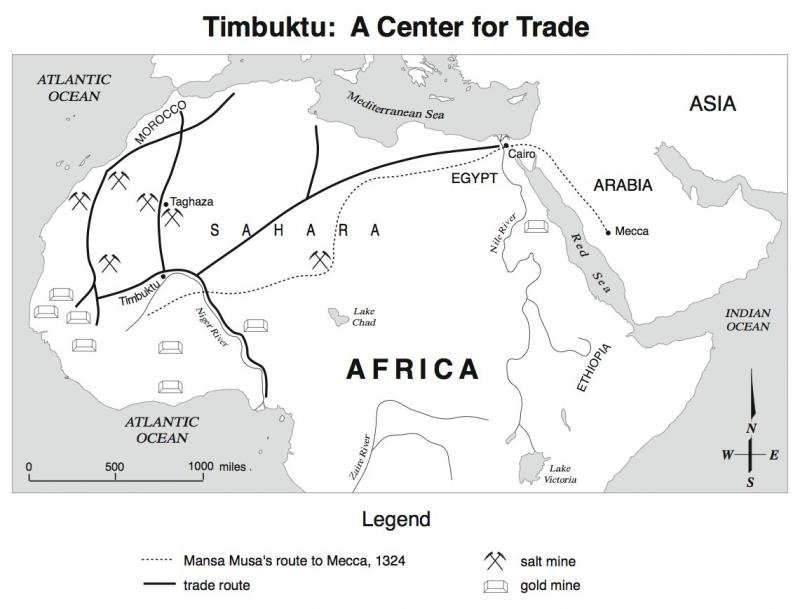 Timbuktu A Center For Trade Ncpedia