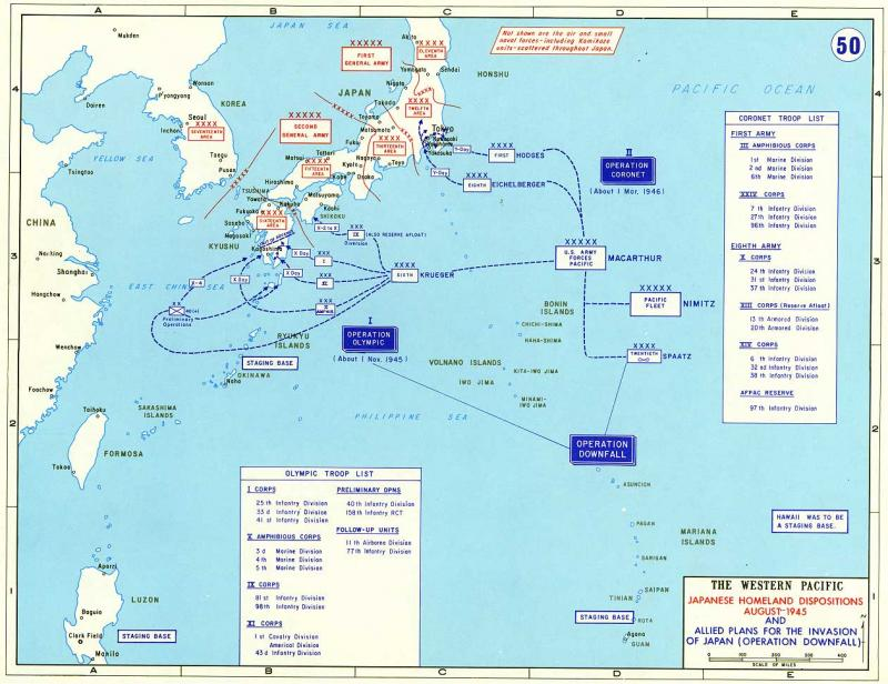 Allied Plans for the Invasion of Japan, August 1945   NCpedia on ireland public domain, switzerland public domain, iraq war public domain,