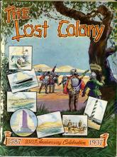 Program from The Lost Colony, 1937