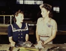 Pearl Harbor widows at work