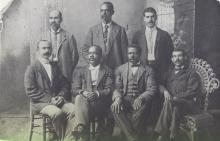 Some of the Founders of Mechanics & Farmers Bank
