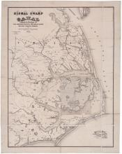 Map of the Dismap Swamp Canal, 1867