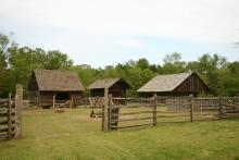 Latta Plantation outbuildings