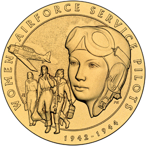 Women Airforce Service Pilots medal