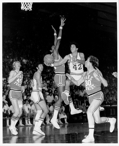 Dukevs. Wake Forest, College basketball, 1974