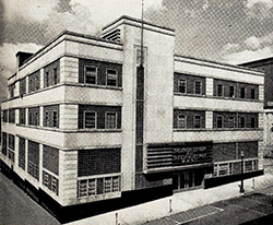 Asheville Citizen-Times building, circa 1951. Image from the North Carolina Digital Collections.