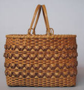 Maple Purse Basket. Image courtesy of Western Carolina University.