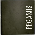 Cover of the Pegasus, 1972, which featured Bathanti's first published poem. Image courtesy of the Louis L. Manderino Library,  California University of Pennsylvania.